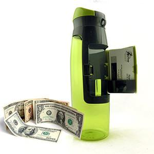 Творческий Хранения Сетки Дизайн Бумажник Пластиковые Бутылки Воды Спорта На Открытом Воздухе Портативный Подарок Напиток Фрукты Infuser Шейкер Бутылки
