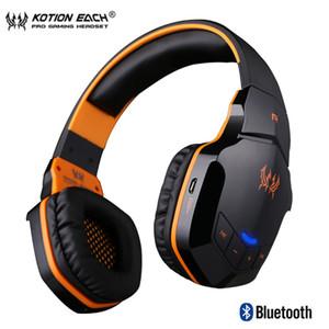 KOTION EACH B3505 Bluetooth sans fil 4. 1 Casque de jeu stéréo Micro-casque de contrôle de volume HiFi Music Casques jeu 26pcs / lot