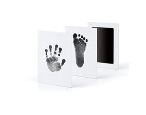 Pegada Da Mão do bebê Não-Tóxico Recém-nascidos Impressão Mão Inkpad Marca Lembrança Infantil Lembranças Fundição Brinquedos Argila Presente DHL navio livre