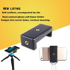 Soporte universal para adaptador de montaje en trípode CellPhone para iPhone para Samsung Trípode flexible para iPhone Samsung Xiaomi Huawei Mobile