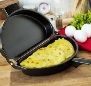 Антипригарный омлет Яичная сковорода для браконьерской посуды - Семейная кухонная утварь Яичная сковорода для блинов