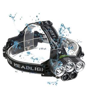 5 CREE faro llevado XM-L T6 llevó la lámpara del faro Q5 cabeza campo de subida de emergencia pesca ligera equipo al aire libre
