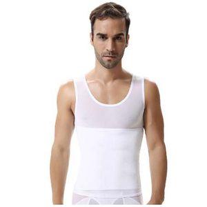 QWEEK мужчины Shaper жилет для похудения животик живота для похудения оболочка талии пояс рубашка корректирующее белье нижнее белье Body Shaper мужчины трусы корсет