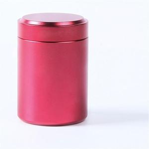 Tanque de Embalagem de Vedação de Armazenamento Portátil Recipiente Herb Seco Prático Chá Canister De Alumínio Canister Vácuo Airtight Segredo Fácil Transportar 3 9 tq cc