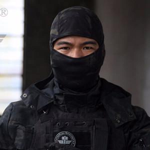 Airsoftsports Tactical Balaclava Camuflaje Caza Paintball Montar Mascarilla Facial