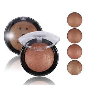 Miss Rose Makeup Brand Bronzer Blush Palette Face Makeup Baked Cheek Color Blusher لوح احترافي من أحمر الخدود