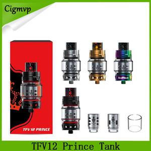 TFV12 Prince Cloud Beast Tank 8ml Big Capacity Sub Ohm Atomizer Punta de goteo de diámetro amplio Fit V12 Q4 X6 M2 T10 Coils 0266171