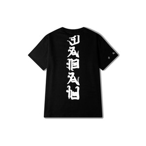 Hommes Ins Réseau Tide 16ss Série Joint Mal T-Shirt Rue Vogue Lâche Couple Tee Shirt Casual Hip Hop O-Cou T-shirt