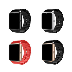 GT08 بلوتوث سمارت ووتش مع فتحة لبطاقة SIM Android Watchs for Samsung و IOS Apple iphone Smartphone Bracelet Smartwatch