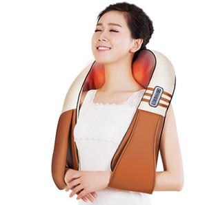 New U Forma Elétrica Shiatsu Voltar Neck Shoulder Body Massager infravermelho aquecida Amassar Car / Home Massagem