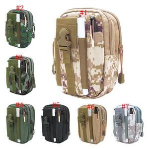 Новый кошелек Кошелек Чехол для телефона Открытый Тактическая кобура Военная сумка Molle Hip Waist Belt с застежкой-молнией для iPhone / Samsung / LG / SONY