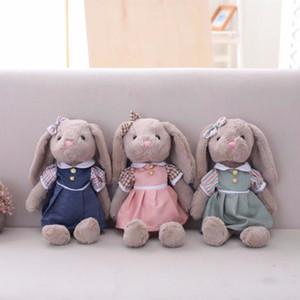 Miaoowa 1 pc 35 cm coelho dos desenhos animados brinquedos de pelúcia com saia de animais de pelúcia macia boneca para crianças crianças meninas presente de aniversário baby dolls