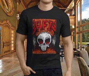 Новые Популярный AFI East Bay Китти Rock Band Мужской Черный T
