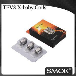 Autentica SMOK TFV8 X-BABY Coil testa SMOK x-baby M2 Q2 x4 T6 Coil 100% originale