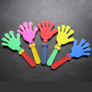 Venda quente 19 cm Tamanho S Cheerleading Mão Válvula De Plástico Concerto Vocal Plástico Partido Jogos de Esportes Fabricante de Noise Mãos Válvula Do Bebê Crianças brinquedos para animais de Estimação