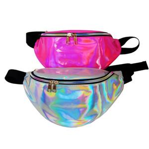 21 ألوان الليزر الخصر حقيبة للماء بو الخصر حزمة الرياضة في الهواء الطلق حقائب الشاطئ للجنسين الجيب الليزر حزام حقيبة الكتف حقيبة C4529