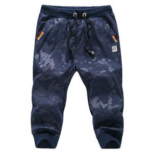 Grandwish Camuflagem Shorts Homens Elástico Na Cintura Shorts Militares Para Os Homens Verão Na Altura Do Joelho Mens Casual Shorts Hip Pop, Da063