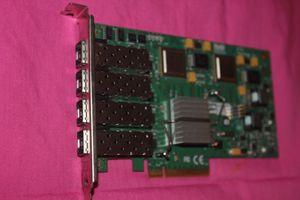 Equipo industrial ATTO FC44ES 4GB / S 4 GIGABIT FIBRE CHANNEL (FC) PCI-E X8 HOST ADAPTADOR DE BUS (HBA)