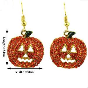 pendiente joyas de Halloween 's de las mujeres de calabaza regalo de Chrismas Holloween caliente libre de la manera del envío