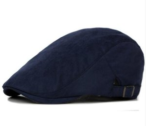 Spring Summer Sun Hats for Men Classic Western Newsboy Caps Woman Cotton Blend Ivy Caps Flat Brim Adjustable Men Beret Cap