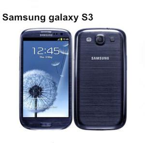 """Telefono cellulare sbloccato originale Samsung Galaxy S3 i9300 Android 3G GSM 4.8 """"8MP GPS WIFI i9300 telefono ricondizionato"""