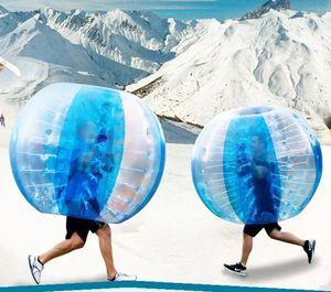 Freies Verschiffen 0.8MM 1.5M PVC aufblasbare Blase Fußball Zorb Kugel Für Erwachsene Körper Bumper Ball Rennen Sport