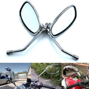 Para Motocicleta Espelho Retrovisor Para Suzuki Bandit 250/400 74A / 75A / 77A / 79A / 7BA InZuma 400 espelhos retrovisores / Side MirrorsFor Motocicleta Rearv