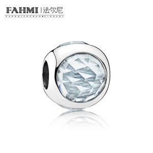 FAHMI 100% 925 Sterling Silver 1: 1 Original 792095NAB Temperamento Autêntico Moda Glamour Retro Bead Casamento Mulheres Jóias
