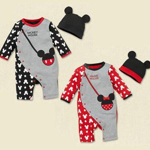 Baby Pagliaccetti Spring Baby Boy Vestiti Cartoon Baby Girl Abbigliamento Neonato Abbigliamento Roupas Bebe Tute infantili Costume