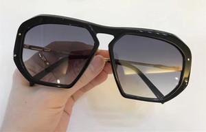 CE Lüks Kadın Tasarımcı CE400251 Güneş Gözlüğü Gözlüğü Wrap Tasarımcı UV koruma Unisex Modeli Büyük Çerçeve Leopar Çift Renk Çerçeve