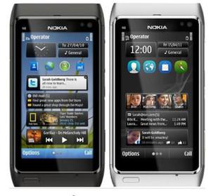 Reformado original de Nokia N8 teléfono móvil WIFI GPS 12MP GSM 3G de 16 GB de almacenamiento N8 Smartphone desbloqueado Mango