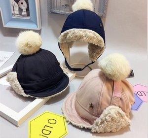 2020 новые Трапперы шляпы для детей детей капота Homme зимних шапок Шапочки дизайнер шляпы бренд открытых мод милых девушки парни головных уборы