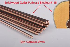 New 25pcs Guitar Strip Wood Purfling Binding Guitar Body Wood Inlay 640x6x1.2mm