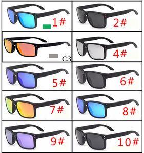 MOQ = 10PCS 뜨거운 판매 브랜드 남자와 여자 편광 선글라스 남성 여성 스포츠 자전거 안경 고글 안경 VR46 10 색 무료 배 가스