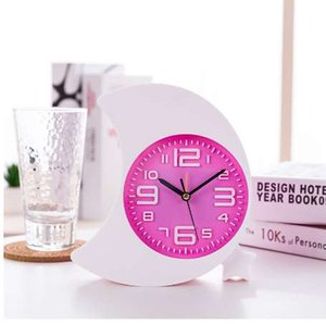 Nuevo Mini Mute Alarm Clocks Battery Bedside Desk Table Home Decor Kid Creat Regalos Square Portable Snooze Function Relojes