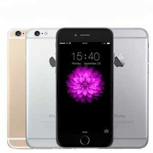 Recuperado Apple iPhone iphone6 ​​6 6s 6plus 16 iOS System / 64GB desbloqueado iPhone i6 Celular Dual-core Com Touch ID 4G LTE Celular