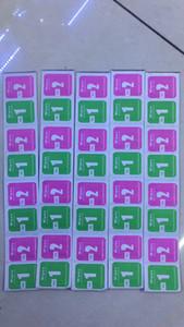 100pcs / set per il vetro temperato pulizia alcool professionale di carta anti-polvere Salviette umide + salviette asciutte per il cellulare Clean schermo temperato Gla