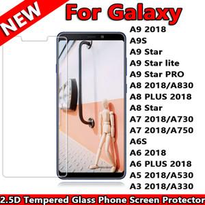 Samsung Galaxy için A9 2018 A9S A9 Yıldız lite PRO A830 A8 ARTı A8 Yıldız A7 A730 A750 A6S A6 Artı 2018 A5 Temperli Cam Telefon Ekran Koruyucu