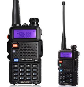 Frete Grátis Original BAOFENG UV-5R Dual BandTransceptor UV5R Rádio Em Dois Sentidos Walkie Talkiea BF-UV5R Com Free Headset LLFA