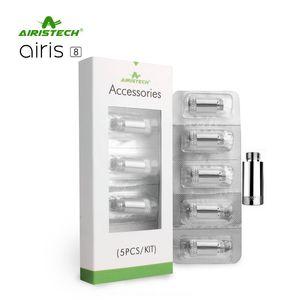 100% auténtico Airis 8 Coils Head C1 Dipper C2 Wax Core para Airis 8 Kit Vaporizador Envío gratis al por mayor