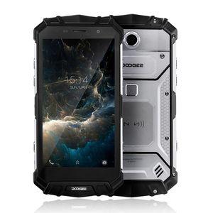 "DOOGEE S60 lite IP68 Waterpoof Cep telefonu 5580 mAh 5.2 ""FHD 4 GB + 32 GB MT6750T Octa-Çekirdek 16MP Kablosuz şarj Android Smartphone"