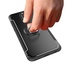 Für Huawei Mate 10 Lite Auto Magnetischer Halter Shockproof Abdeckung für Huawei Nova 2i Ehre 9i Telefonkasten