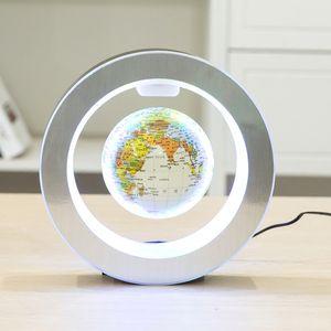 Магнитный глобус мира Магнитный плавающий глобус светодиодный левитирующий вращающийся теллурион карта мира школьные канцелярские принадлежности домашнего декора