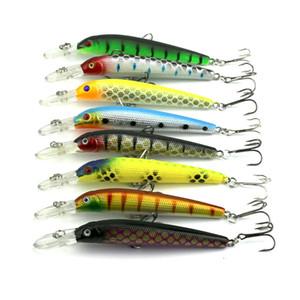 ارتفاع كانليتي تراوت atificial البلاستيك أسماك الصيد بيت 10 سنتيمتر 6.8 جرام الضحلة السباحة طويل الشفاه إغراء gamefish crankbaits