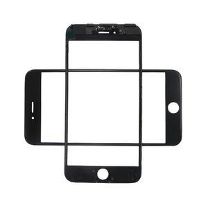 Cristal de pantalla exterior 3 en 1 LCD con película OCA instalada + marco de bisel de prensa fría para iPhone 6S Plus