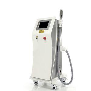Máquina con sistema de tecnología OPT + SHR + IPL para depilación permanente Máquina de belleza para el cuidado de la piel con rejuvenecimiento de la piel OPT