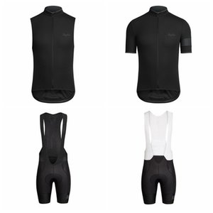 RAPHA Cycling Short Sleeves jersey (bib) shorts Sleeveless Vest sets Summer MTB Bike Ropa ciclismo hombre Hot Sale P62205