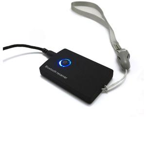 3.5mm 오디오 잭 검정색 흰색색이있는 Bluetooth 수신기