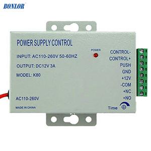 Mudar Smart Home Access Control Alimentação K80 poder DC 12V 3A AC 110 ~ 260V para todos os tipos de Controle de Acesso Sistema de frete grátis