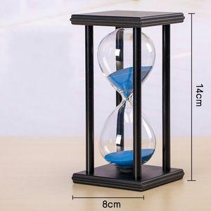 Kum Saati Zamanlayıcı Retro Tarzı Ahşap Süsler Çocuk Süslemeleri Öğrenci Yaratıcı Doğum Günü Hediyeleri Ev Dekorasyonu Plastik Cam 14 9jx ff